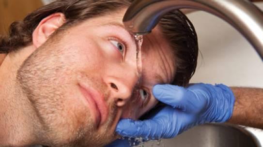 Steps to take in case of an eye injury